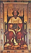 Richard II, Portrait circa 1367 at Westminster Abbey