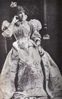 "Sarah Bernhardt, the queen in Hugo's ""Ruy Blas"""